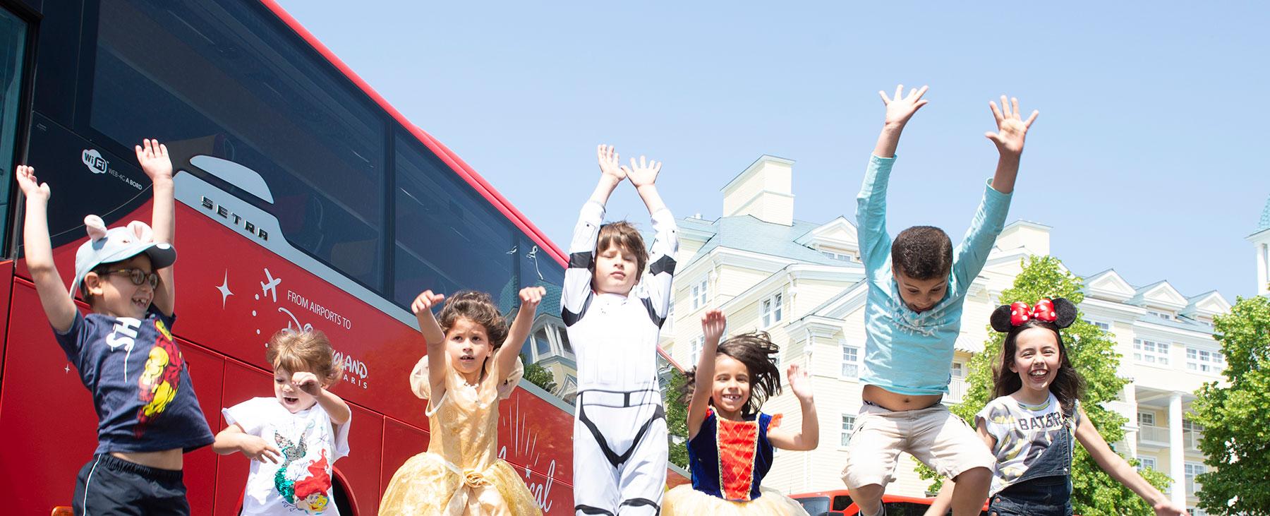Autocarro Parques Disney